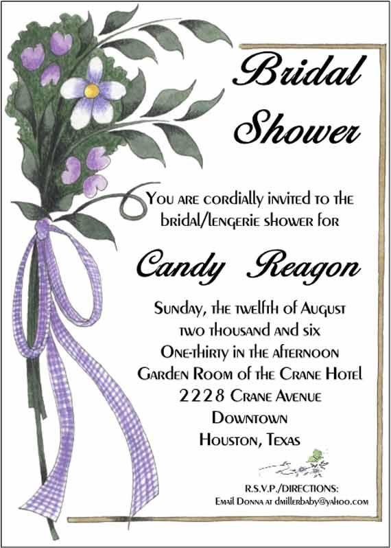 diy cheap bridal shower invitations 1