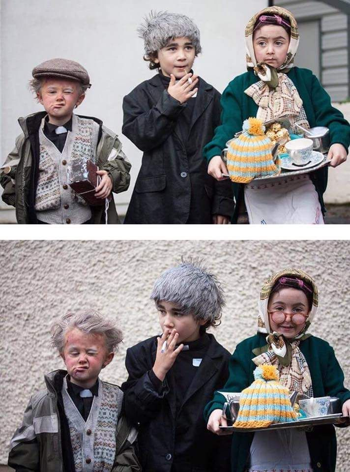 These Irish kids and their Father Ted costumes. http://ift.tt/2eRIWJg