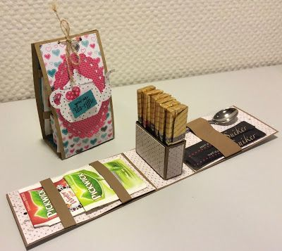 """By Laura Kent from """"Laura's Creative Moments"""": Stampin' Up! """"A Nice Cuppa"""" Stamp set and """"Cup A Kettle"""" Framelits ..."""