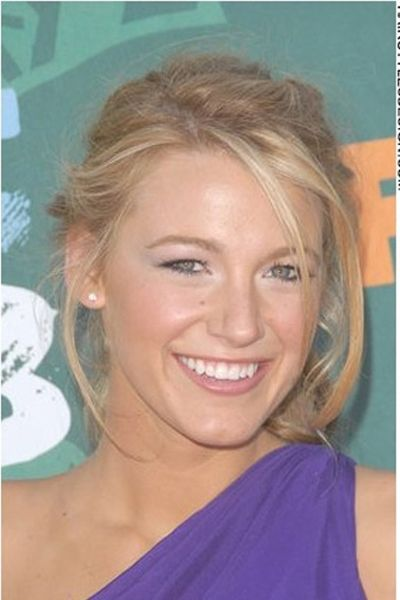 Blake Lively - little to no makeup