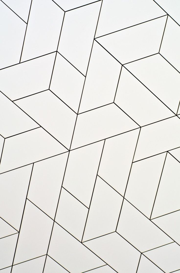 I am heading north Pattern Tile black and white
