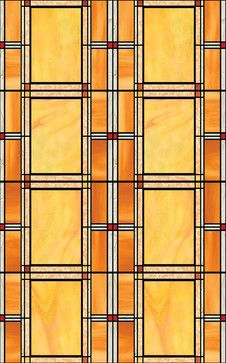 Arts And Crafts Stained Glass Window Film craftsman-window-film