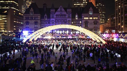 Cavalcade of Lights  Date Saturday, November 29, 2014 | 7:00pm  Location Nathan Phillips Square