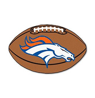 NFL® Denver Broncos Football Mat
