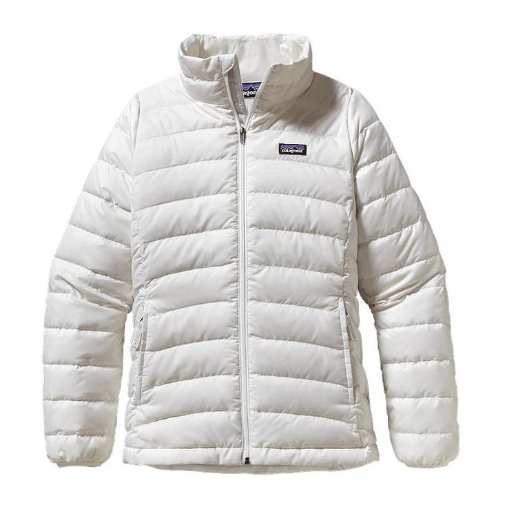 Patagonia Girls\' Down Sweater Jacket - Birch White BCW