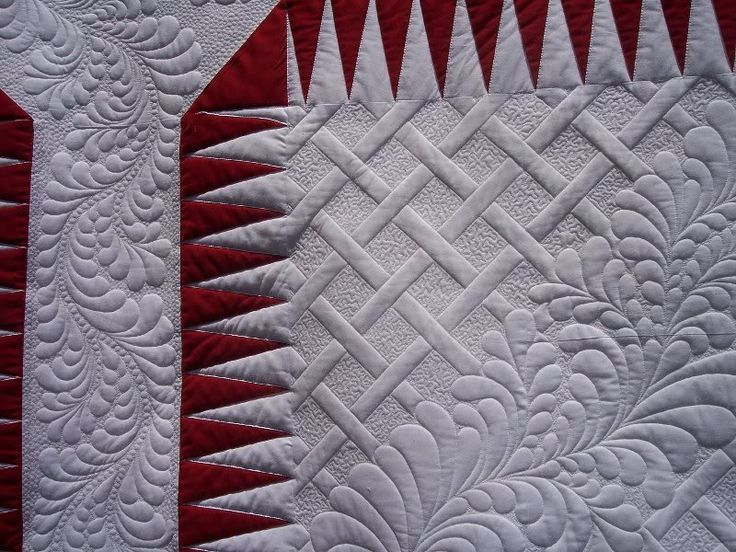 Haircut: Longarm Quilts, Beautiful Quilting, Feathers Quilts, Beautiful Flowers, Machine Quilts, Beautiful Quilts Lov, Beautiful Lattices, Lattices Quilts, God Beautiful Quilts