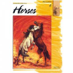 Leonardo Collection Desen Kitabı #6 Horses