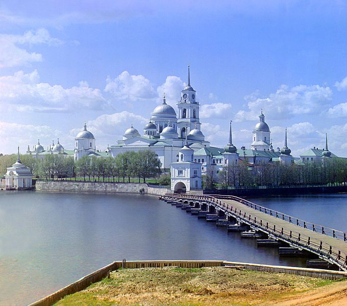 Stolobny Island Нило-Столобенская пустынь Tver Oblast 1594-1833