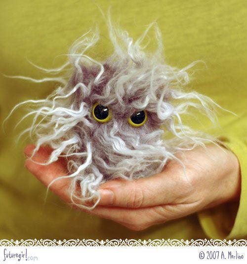 fur ball -  love this!