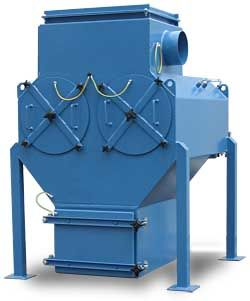 CARTRIDGE DUST COLLECTOR PIDCLEAN EX - The Pidclean EX dust collector was developed especially for Atex Zone 22, with a built-in explosion-membrane and an integrated decompression channel. Its application range is similar to that of the Pidclean N and B models.