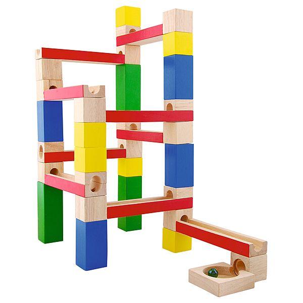 Drewniany kulodrom Moje Bambino #wooden #toys #fun #kids  http://www.mojebambino.pl/klocki-konstrukcyjne/3503-drewniany-kulodrom.html