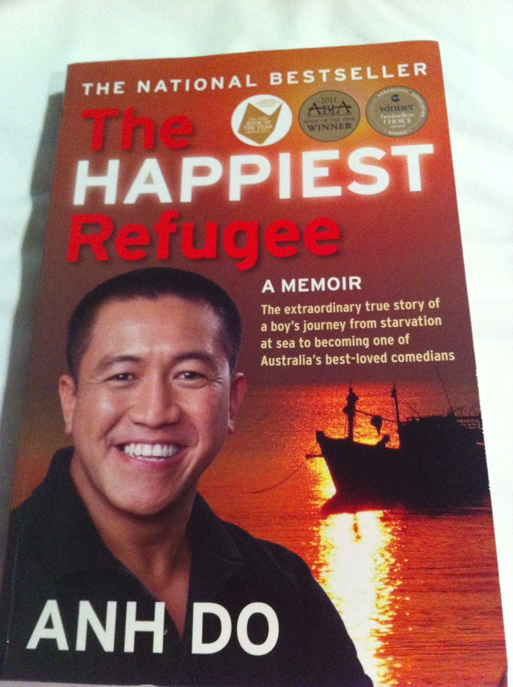 The Happiest Refugee by Anh Do - reading aloud to Mr13 each night, he's enjoying the story and I'm enjoying the ensuing discussions.