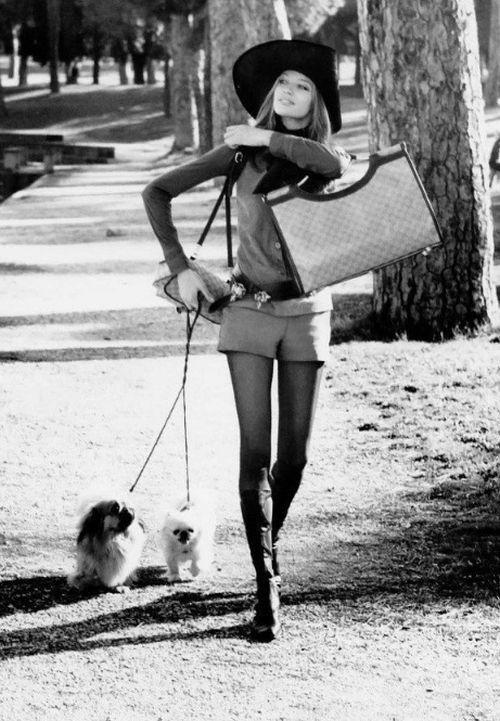 Женская мода в Великобритании 60-х годов (24 фото)
