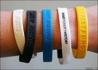Wristband As Fashion Statement http://bit.ly/1M7xV3g
