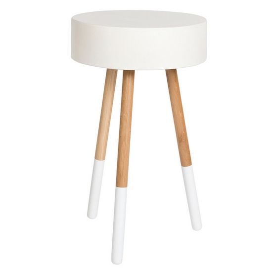 Ellie Tall Accent Table   White. And Now For Something A Little Bit  Different.