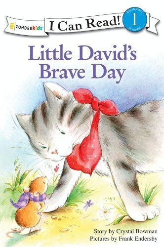 Little David's Brave Day (I Can Read! / Little David Series):   strongA Lesson in Trusting God/strong/pGoliath the giant cat is scaring Little David's brothers. But not Little David! He knows that God will always help him, no matter what. What will make Goliath go away?/pThis is a Level One I Can Read! book, which means it's perfect for children learning to sound out words and sentences. It aligns with guided reading level J and will be of interest to children Pre-K to 3suprd/sup grade...