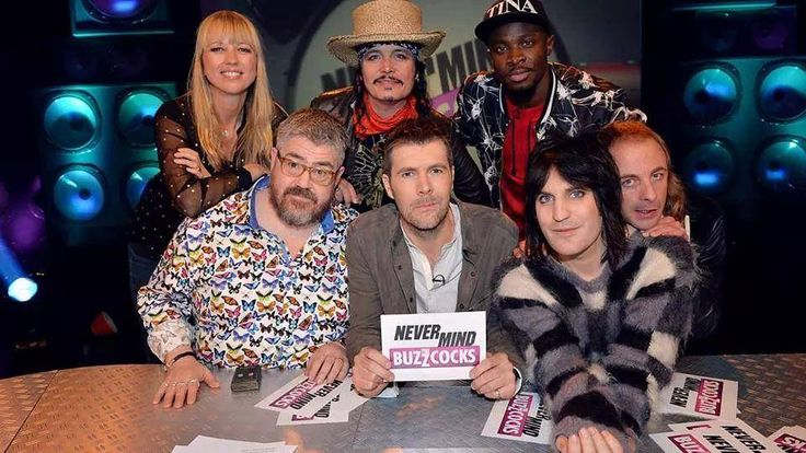 First look on Monday's episode of Never Mind The Buzzcocks Rhod Gilbert, Phill Jupitus and Noel Fielding are joined by Adam Ant, DJ Sara Cox, Paul Foot & rapper Fuse ODG on the show!