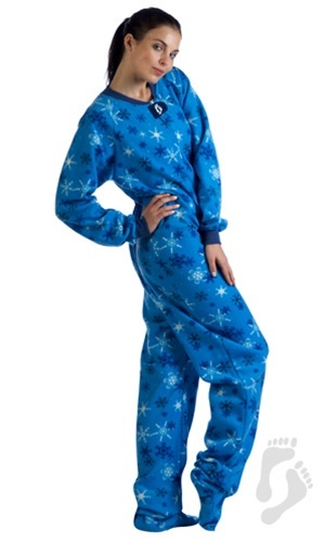 It s a Snow Day - Adult Footed Pajamas  9e29a5572