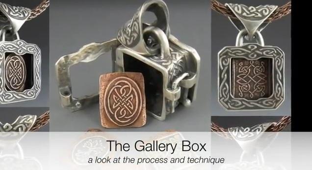Bronwen Tyler-Jones: mini metal box amulets. Like the door ...   Metal Clay Boxes