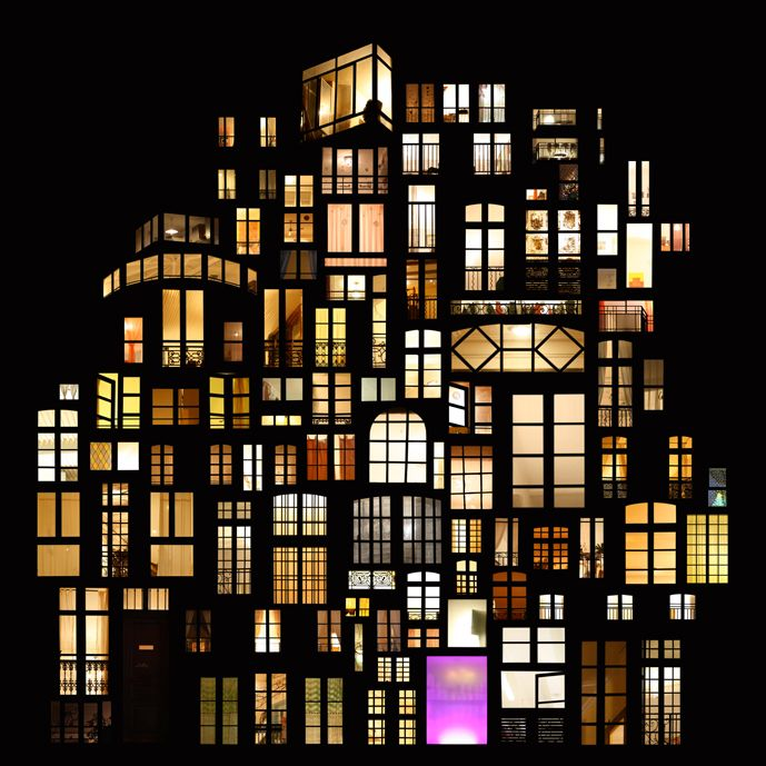 http://www.mymodernmet.com/profiles/blogs/dreamy-window-collage-structures -- Collage by French artist Anne-Laure Maison manipulated