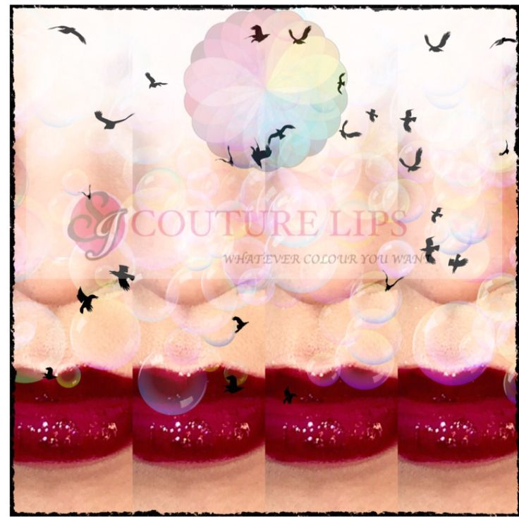 Art meets cosmetics! SJ Couture Lips
