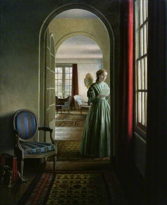 "mea-gloria-fides: ""The Letter by Leonard Campbell Taylor (1874–1969). Ferens Art Gallery, Kingston upon Hull """
