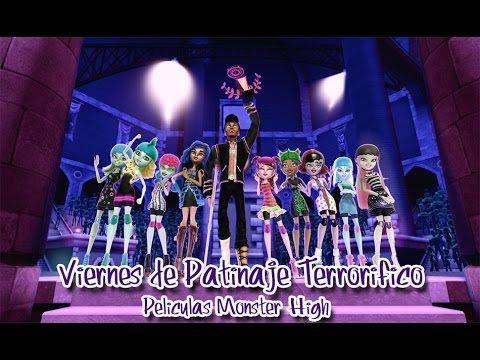 Ver Monster High: Viernes de Patinaje Terrorífico | Pelicula Completa en Español Latino 2012 Online Completa #Películas  #Películas  Las carreras de patinaje extremo son poco popular en Monster High y varias escuelas de monstruos compiten en esta modalidad. Pero la competición este año …