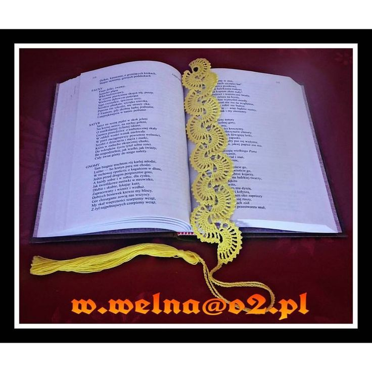 Bookmarks  http://welna.blog.onet.pl   #zakładka #szydełkowanie #szydełko #handmade #crochet #book #bookmarks