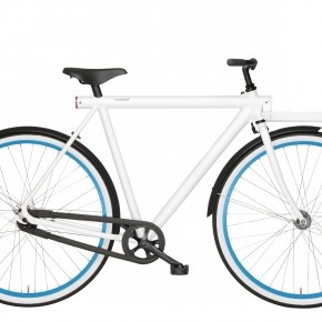 VANMOOF 2012 - White Concept Bike !!
