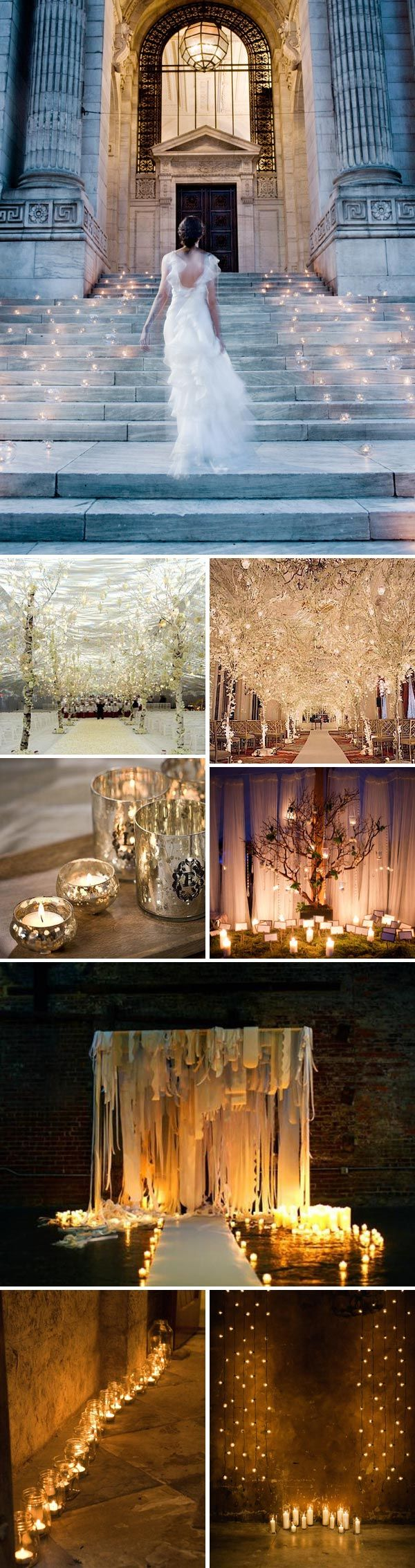 It's like a fairy tale come to life - gorgeous use of lights to build ambiance