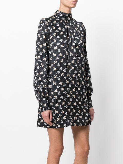 Marc Jacobs платье с геометрическим цветочным узором