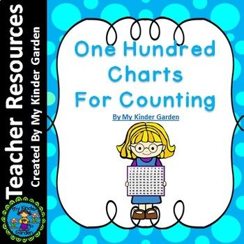 One Hundred Charts for Math Counting Practice is a set of 100 charts. The first is numbers only, the next three are color coded to help students learn to count by 2's, 5's, and 10's. I have also included several fill in the missing number charts. These charts include fill in the missing number