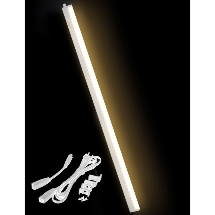LED Concepts Under Cabinet Warm White 34-inch Linkable T5 Light Bar (34, Warm White) (Plastic)