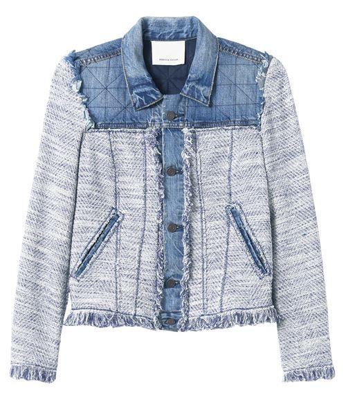 Джинсовые куртки и жакеты 2016 Rebecca Taylor