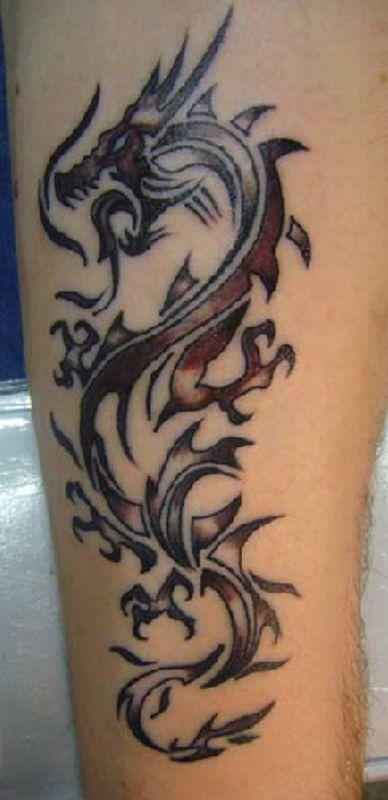 Popular Chinese Dragon Tattoo