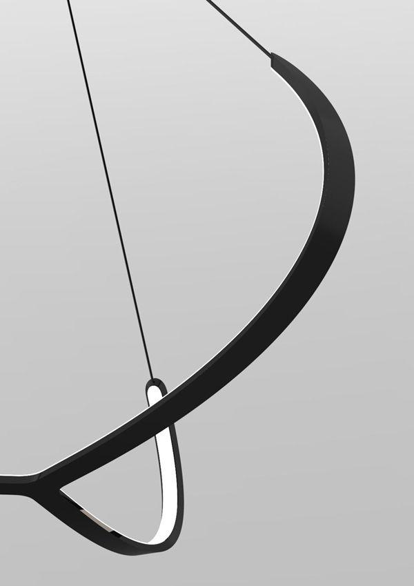 Lighting Design // detail of the Alya - suspended led lamp :: Nemo