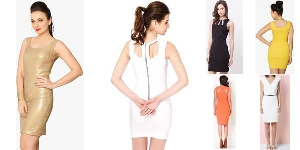 """Beautiful Bodycon Dresses!"" Awesome list on #dresses #roundneck by @garimalsr #fashion"