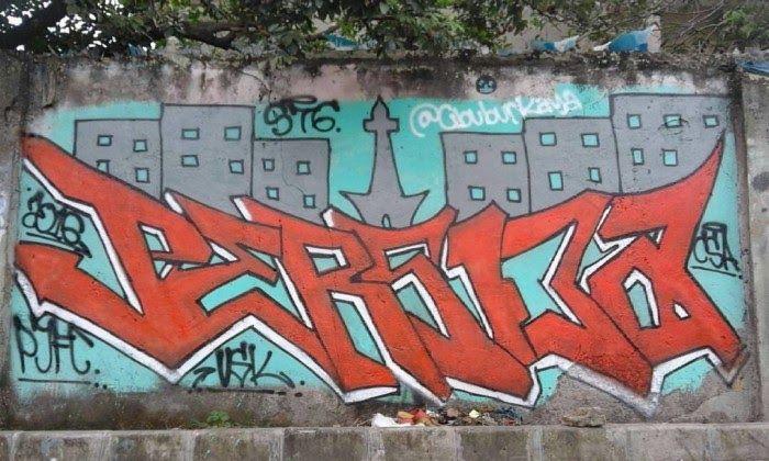 Grafiti Keren Persija Sempoa Dunia