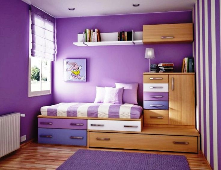 Purple Bedrooms Ideas Painting Gorgeous Inspiration Design
