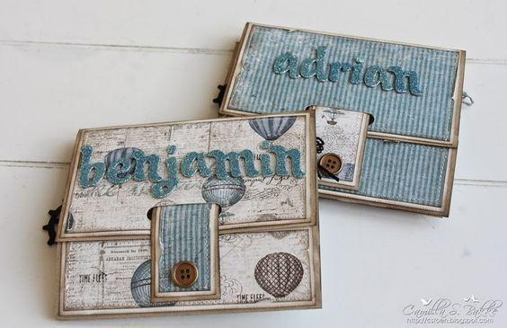 Cards by Camilla: Mappekort ~ Konfirmasjonskort til gutt