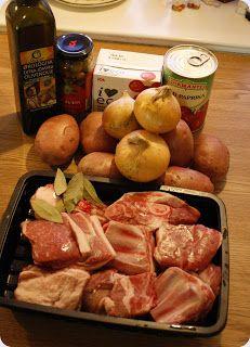 Gry´s Kjøkkenskriverier: Lammegryte à la bacalao( langtisdsstekt)