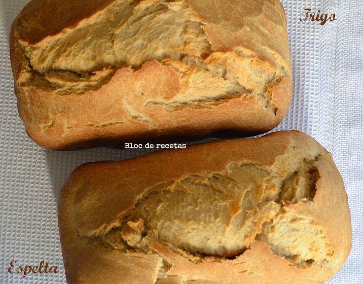 Bloc de recetas: Pan francés crujiente en panificadora - Trigo vs. Espelta