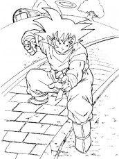 Imagens de Dragon Ball Z para pintar