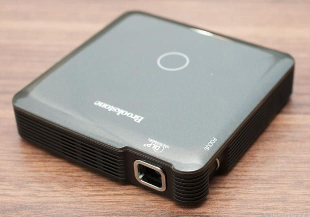 Brookstone HDMI Pocket Projector Review - Home Theater Projectors - CNET Reviews