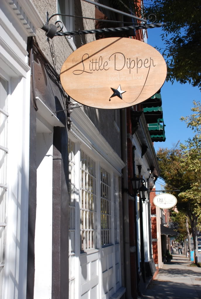 The Little Dipper Restaurant In Wilmington North Carolina Fondue Frenzy N C Pinterest And