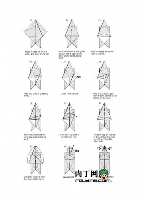 1000  ideas about origami eagle on pinterest