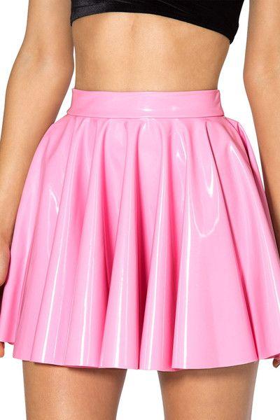 PVC Princess Pink Cheerleader Skirt - LIMITED   Size Small