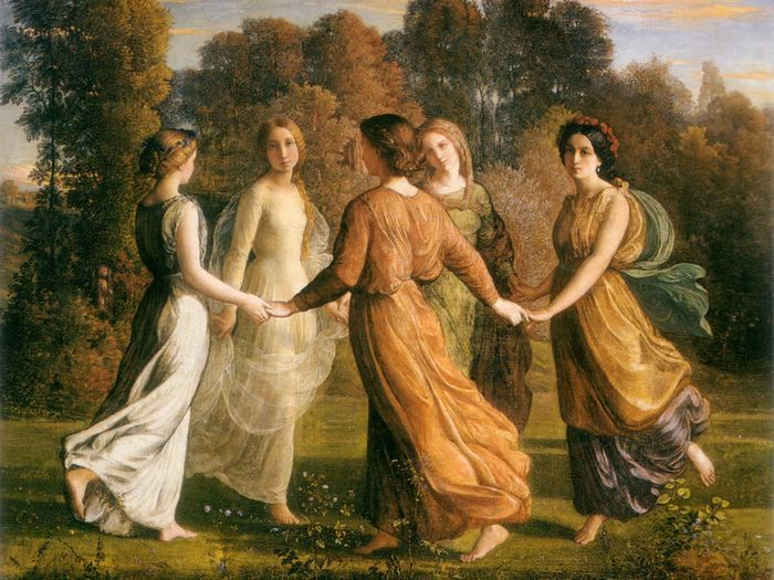 Classic Paintings of Women | famous paintings of women ...