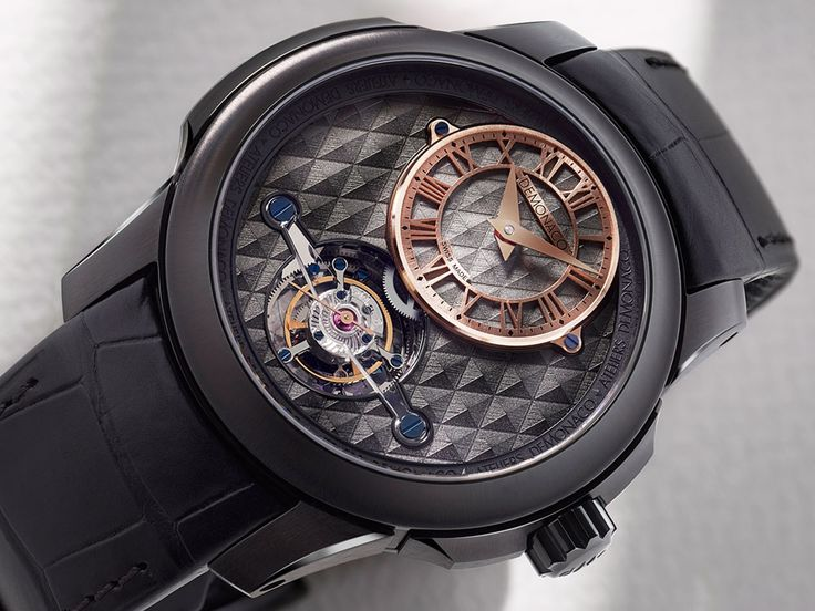Ateliers DeMonaco introduces the Ateliers DeMonaco Tourbillon Oculus 1927 Titane watches – two new variants to an existing line – this time with a sportier touch, thanks to a black titanium case.