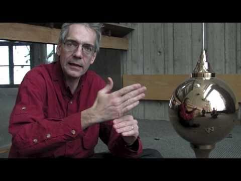Dartmouth professor discusses Foucault pendulum.